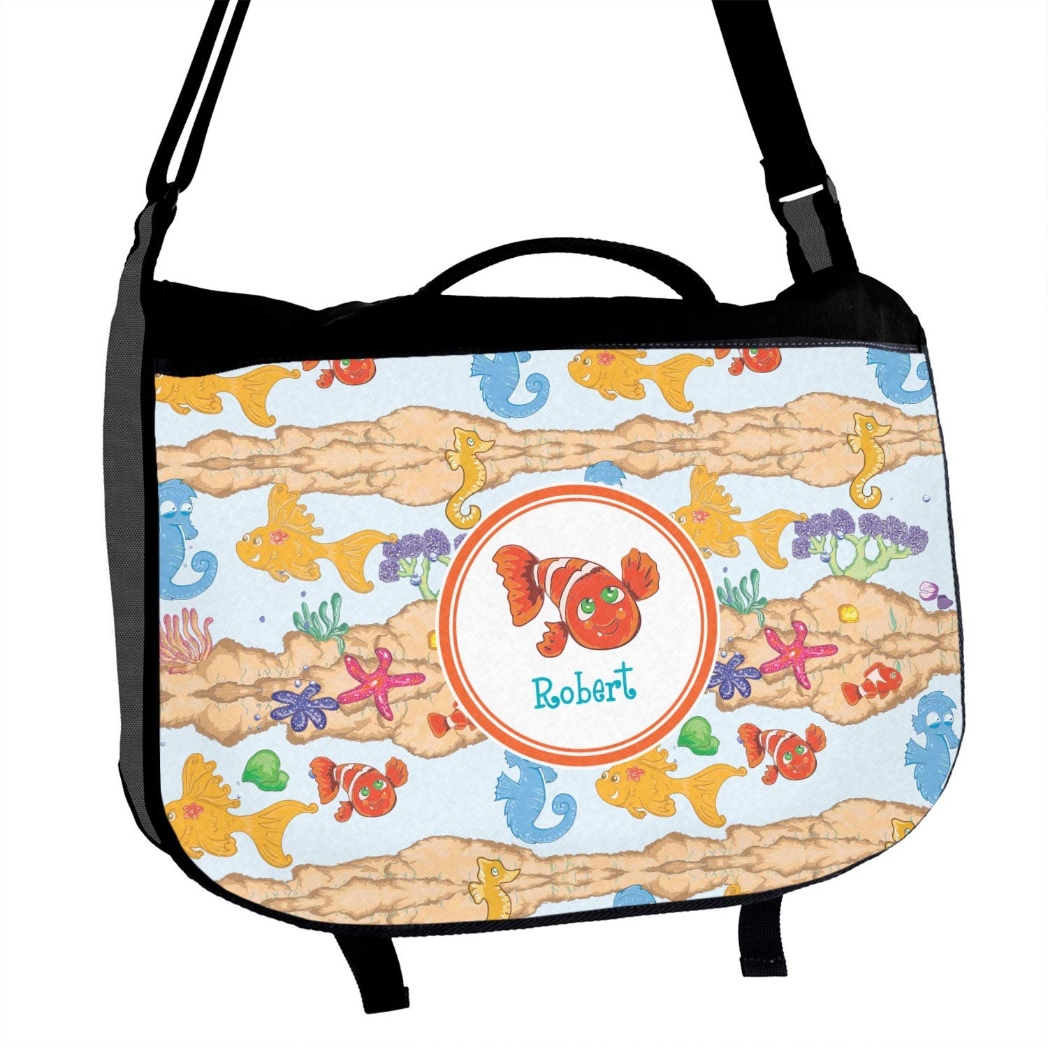 Under the Sea Messenger Bag Personalized