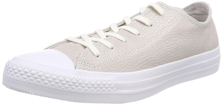 Converse 559888C Damen CTAS OX Fitnessschuhe  37 EU|Beige (Pale Putty/Silver/White 036)