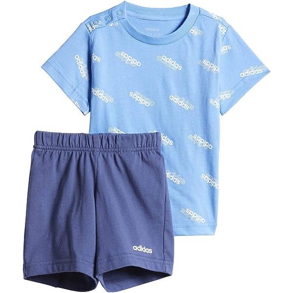 adidas Favorites Set Jr Chándal, Unisex bebé, Azul (Lucky Blue/White), 2-3Y: Amazon.es: Deportes y aire libre