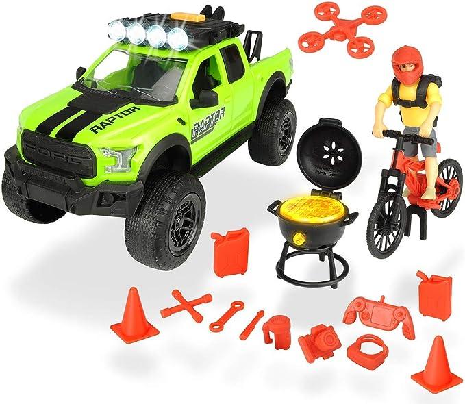 Set L Playlife Mountain Bike Ford Raptor con figura y accesorios ...