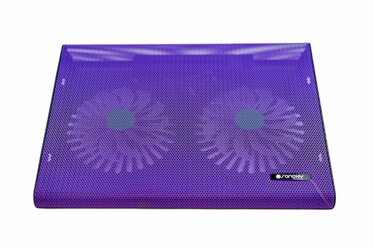 Sanoxy USB Laptop Notebook Cooling Pad 2 Medium Fan for your Apple MacBook Pro, Notebooks, Laptops, Purple (SANOXY-LT-2COL-PPL) by SANOXY (Image #4)