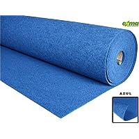 Exma Moqueta Azul Ancho 1mts