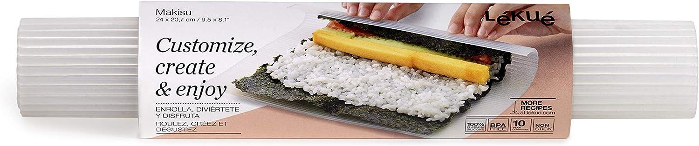 Lekue Makisu Silicone Sushi Mat, Clear