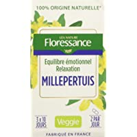 Floressance Phytothérapie Bien Être Millepertuis Bonne Humeur 60 Gélules Lot de 3