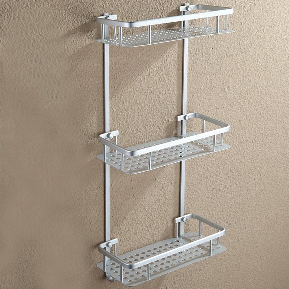 Bathroom racks space aluminum towel rack bathroom hardware accessories set f delicate www - Towel racks for small spaces concept ...