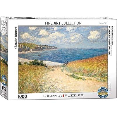 Eurographics Chemin dans les Bles by Claude Monet 1000-Piece Puzzle: Toys & Games [5Bkhe0506131]