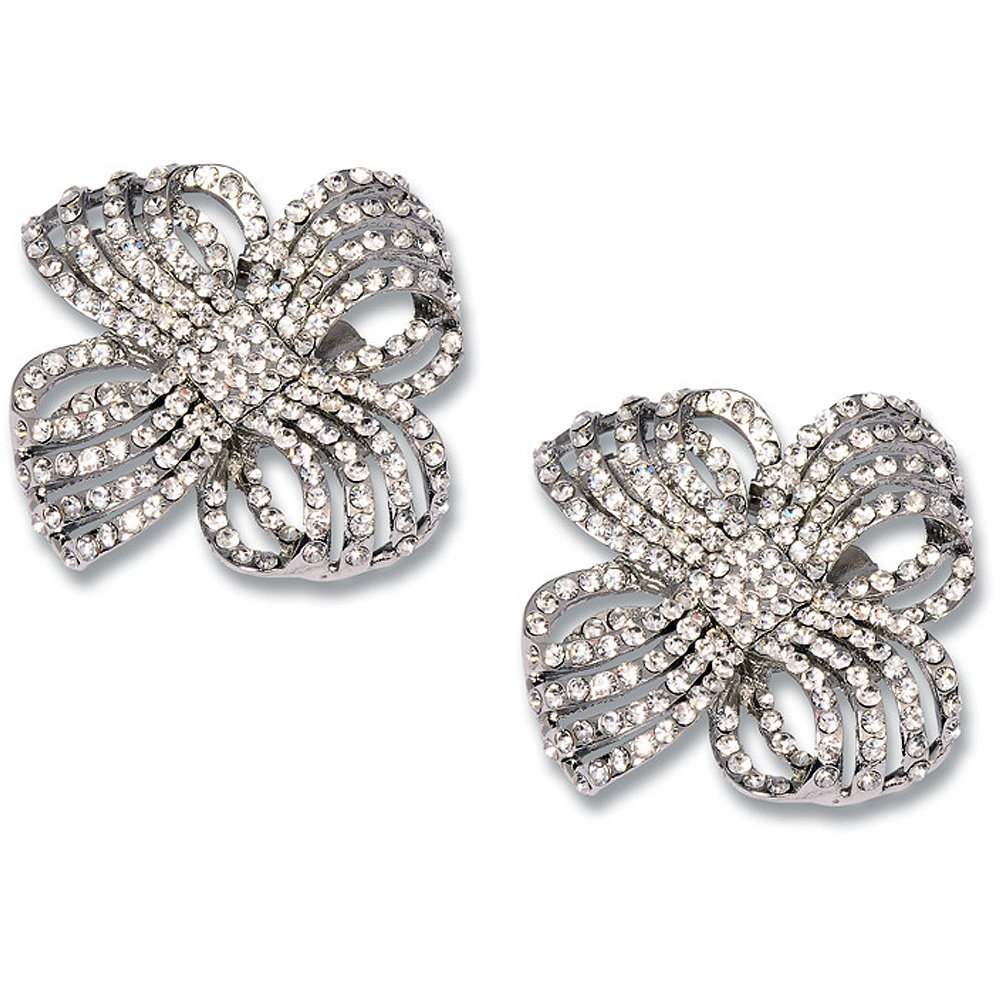 Wedding Rhinestone Shoe Clips Crystal Bridal Shoes Athena