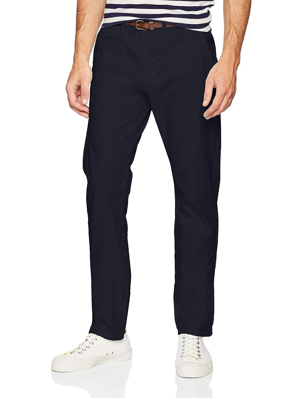 Tom Tailor Casual Essential Chino Pantalones para Hombre, Azul (Outer Space Blue 11914), talla del fabricante: W30/L34