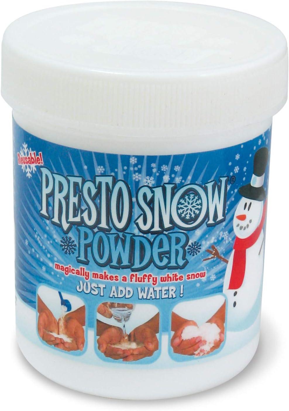 Presto Snow MTPS100 - Nieve instantánea (100 g), Color Blanco