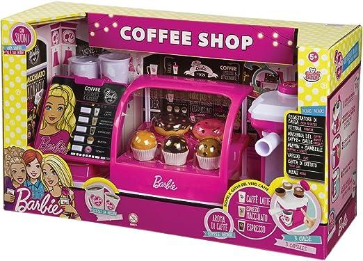 Grandi Giochi - GG00422 – Juguete Coffee Shop de Barbie: Amazon.es ...