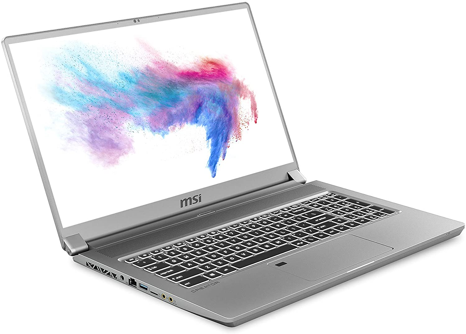 "MSI Creator 17 A10SE-256 17. 3"" FHD 144Hz 72%NTSC Thin Bezel, Close to 100%sRGB Creator Laptop Intel Core i7-10875H RTX2060 16GB 512GB NVMe SSD Win10PRO VR Ready"