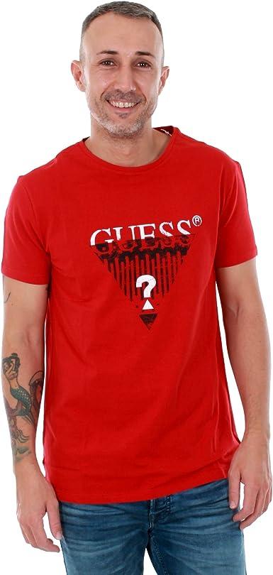 TALLA M. GUESS Camiseta - Hombre