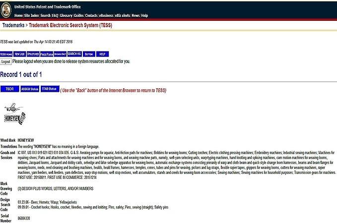 honeysew alta vástago prensatelas Holder adaptador estándar de fijación máquinas de coser 5011 - 2: Amazon.es: Hogar
