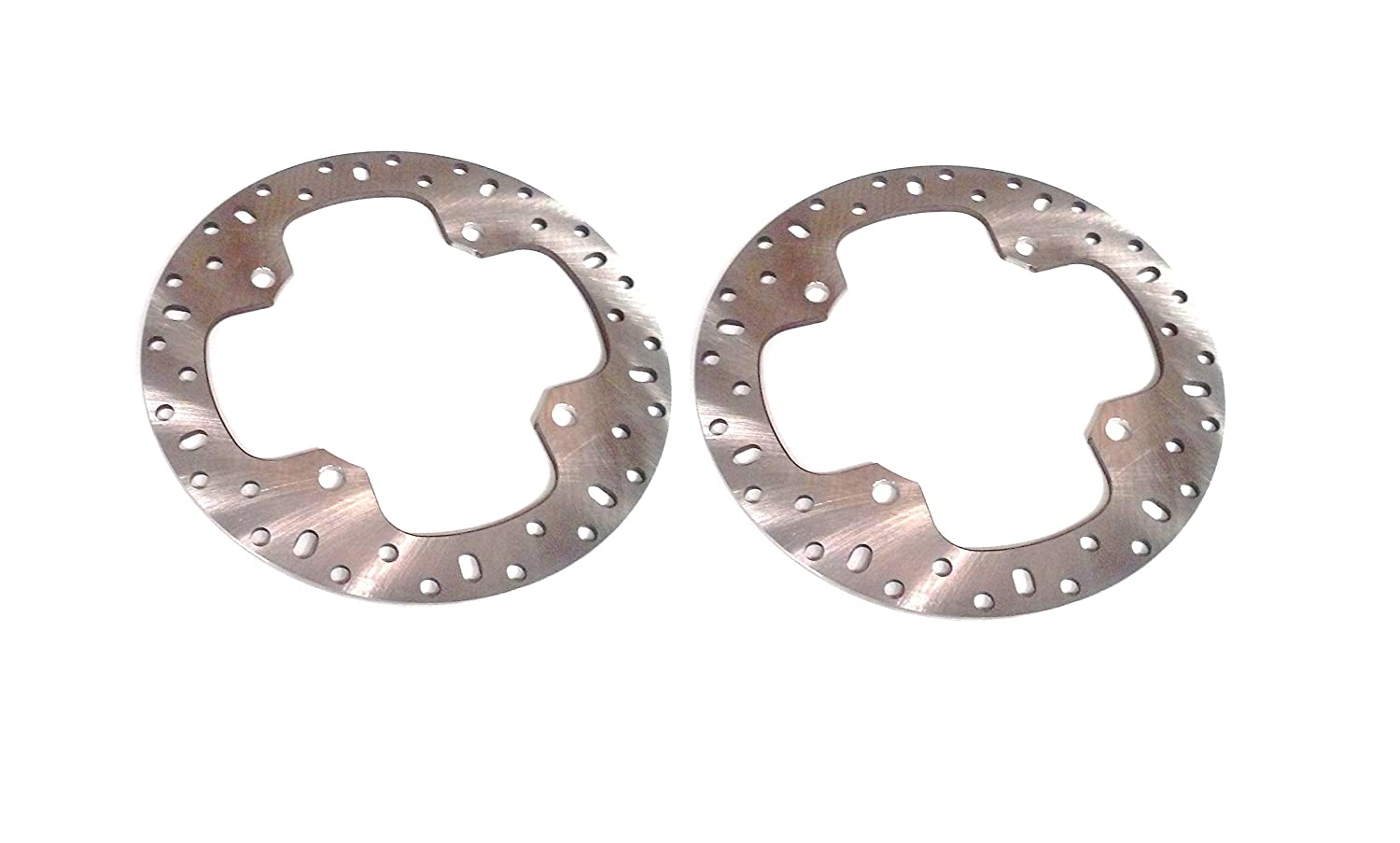 ATV Parts Connection BD-25 Polaris Scrambler 850 1000 Sportsman 550 850 1000 Pair of Front/Rear Brake Rotors ATVPC