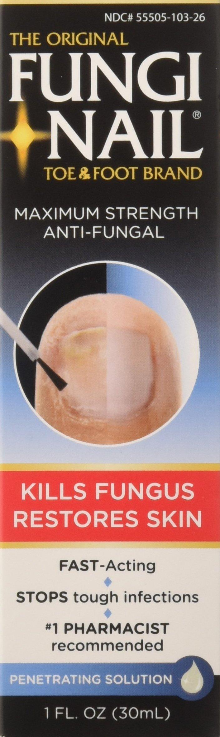 Fungi-Nail Toe & Foot Anti-Fungal Solution, 1 oz