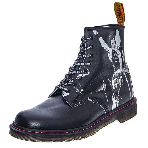 erstaunliche Qualität klassische Stile Preis bleibt stabil Dr. Martens 1460 Sex Pistols Black Greasy Backhand Boot ...