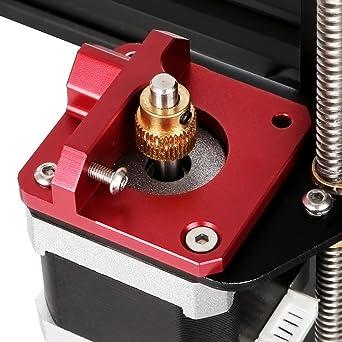 TopDirect 1.75mm Filamento MK8 Bowden Extrusor Bloque de marco ...