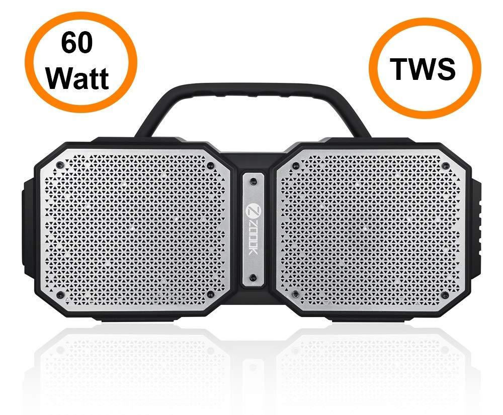 Zoook Rocker Volcano 60 Watts TWS Bluetooth Speaker - Extra