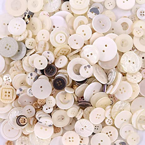DIY Crafts Sewing Decoration Esoca 650Pcs Brown Buttons for Crafts Basic Art Buttons Assorted Sizes Brown Craft Buttons for Arts