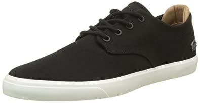 Lacoste Espere 217 1, Bajos para Hombre, Noir, 46 EU  Amazon.es  Zapatos y  complementos ae3e260e9a