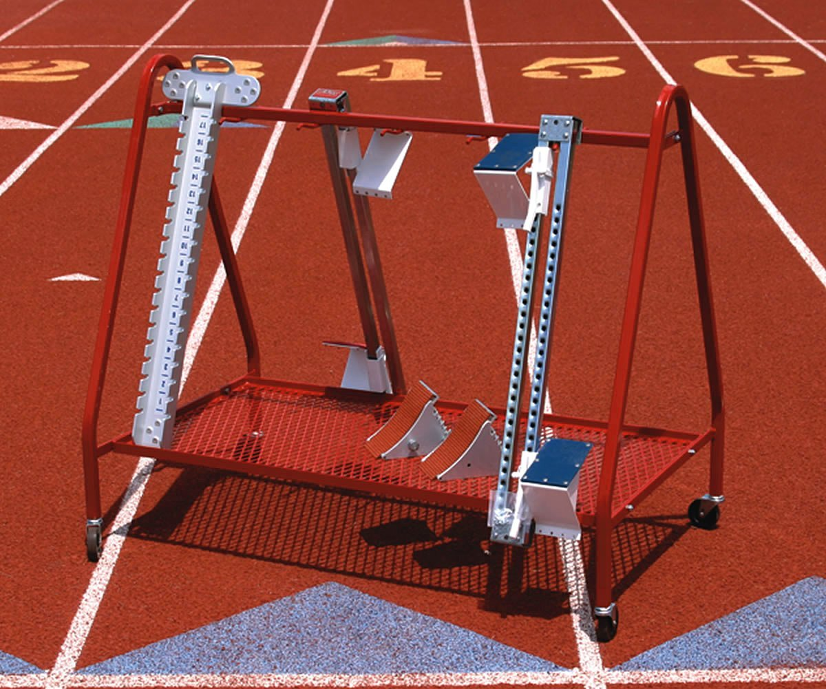 Competition Starting Block Cart Pace Sporting Goods