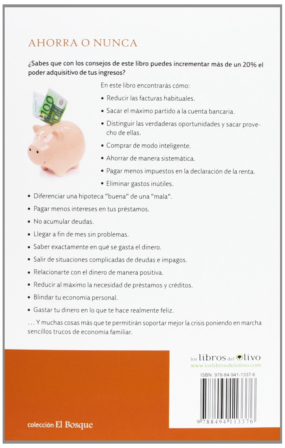 Ahorra O Nunca. Cómo Ahorrar Y Sacar El Máximo Partido A Tu Dinero El Bosque: Amazon.es: Borja Pascual: Libros