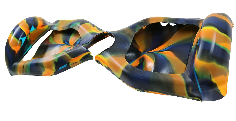 Cool & Fun - Carcasa de silicona para hoverboard segway de 2 ruedas y 6,5 pulgadas, anti-arañazos, impermeable, protección completa (color camuflaje en ...