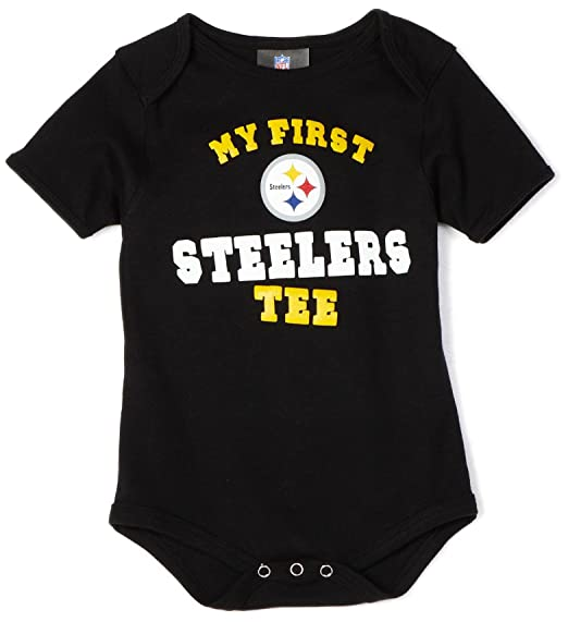 0bc351ce030 NFL Infant Toddler Boys  Pittsburgh Steelers  quot My First Tee quot   Onesie (