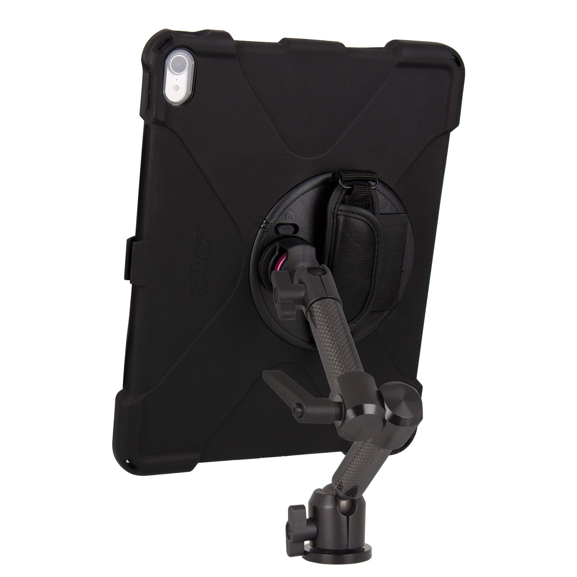 The Joy Factory MagConnect Carbon Fiber Wall/Counter Mount with aXtion Bold MP Water-Resistant Rugged Shockproof Case for iPad Pro 12.9'' [3rd Gen], Built-in Screen Protector, Hand Strap (MWA4104MP) by The Joy Factory (Image #5)