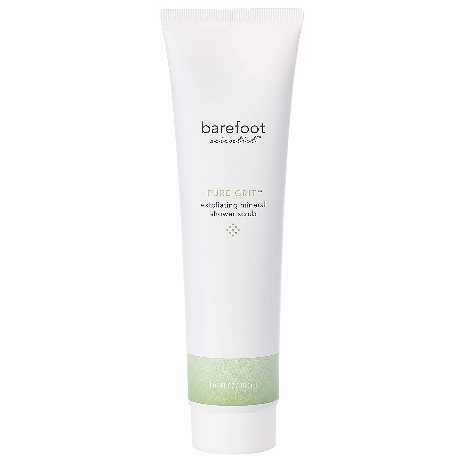 Barefoot Scientist Pure Grit Exfoliating Mineral Scrub, Foot and Body Scrub with Eucalyptus Scent