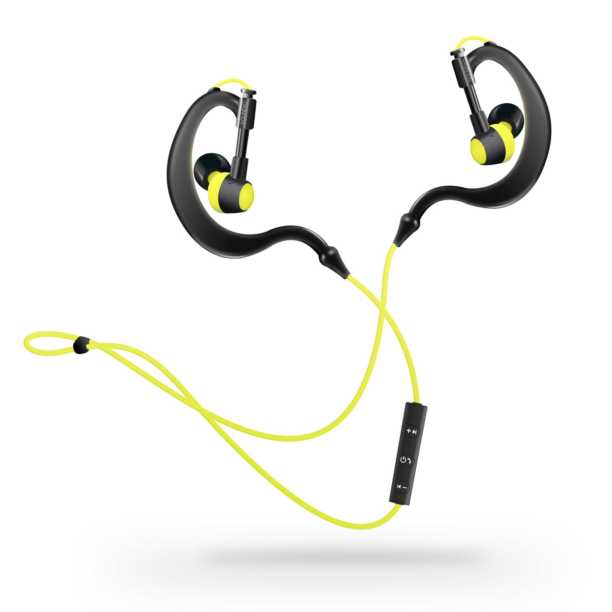 Bluetooth Sports Headphones, Wireless V4.1 Earphones Running Beats Over Behind Earbuds with Built-in Mic for Calling 5 Hour Music Play Time for iPhone Android Smartphones