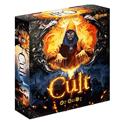 Cryptozoic Entertainment 27442CZE Cult: Choose Your God Wisely: Toys & Games