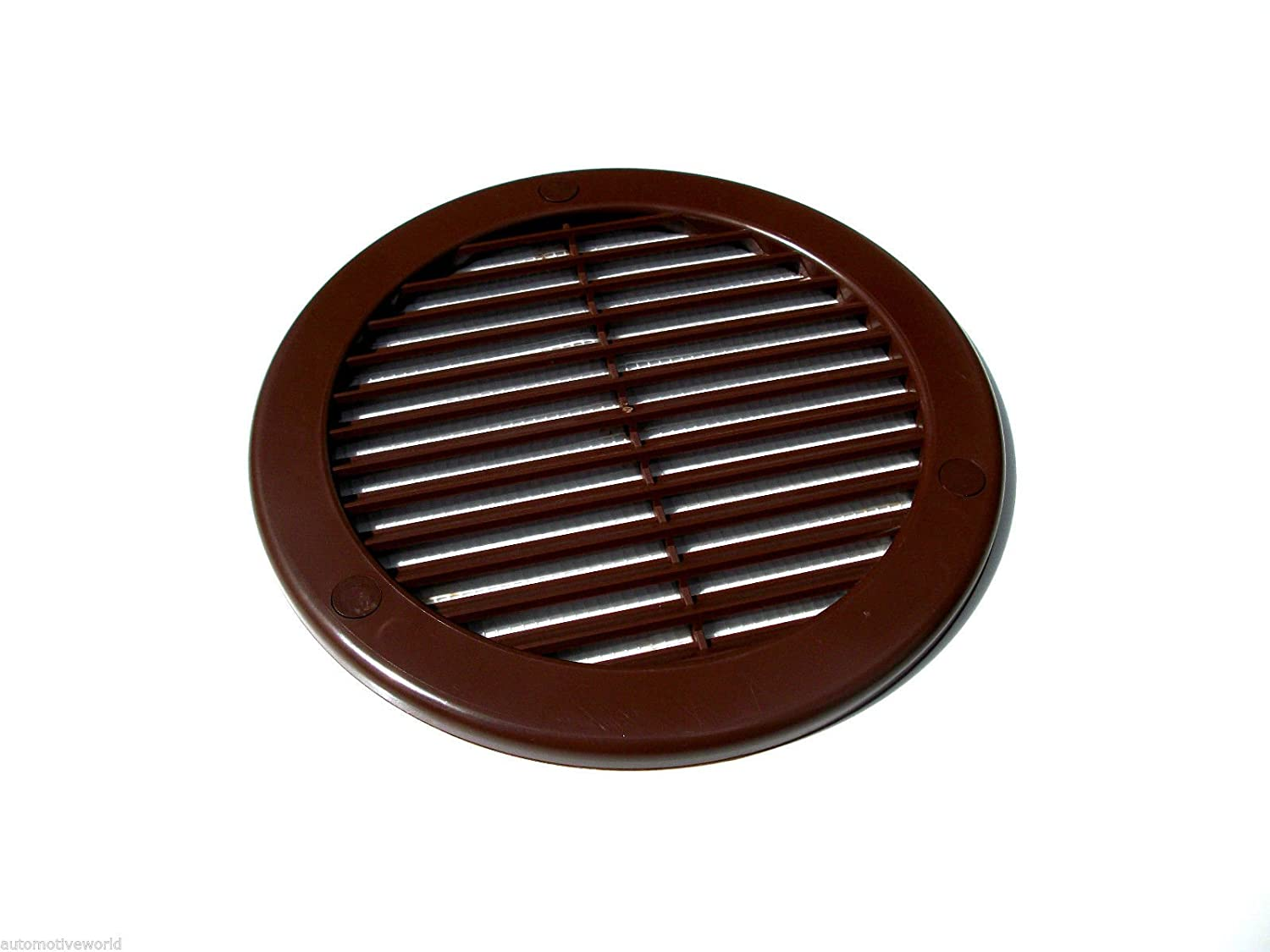 Brown Circle Air Vent Grille 150mm / 6