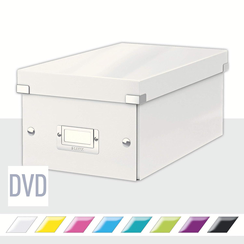 Leitz Caja para guardar CD 60410036 Click and Store Azul