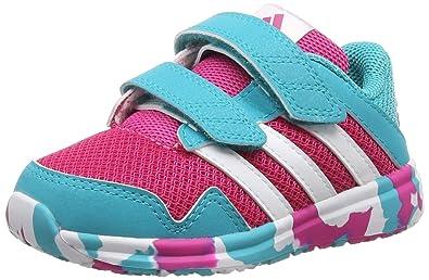 Adidas Snice 4 CF I, Zapatos (1-10 Meses) Unisex Bebé, Rose, 25
