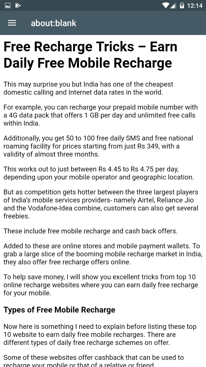 Amazon com: Free Recharge Tricks Earn Daily Free Mobile Recharge