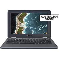"""ASUS Chromebook Flip 12.5"""" Notebook, Grey/Darkgrey, C213NA-BU0048"""