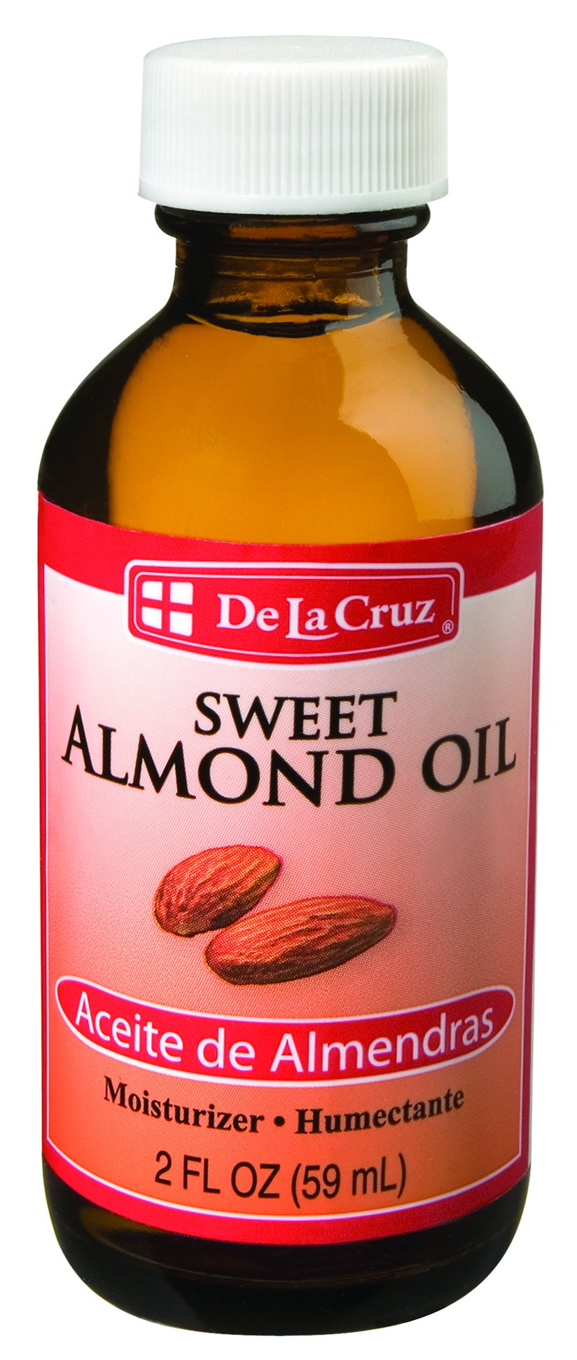 De La Cruz Sweet Almond Oil, No Preservatives Or Artificial Colors, Expeller-Pressed