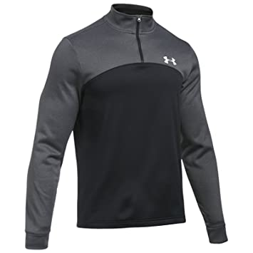 Under Armour Sudadera con capucha Storm Armour Fleece para hombre 1/4 de cremallera, XS, Carbon/Black/White: Amazon.es: Deportes y aire libre