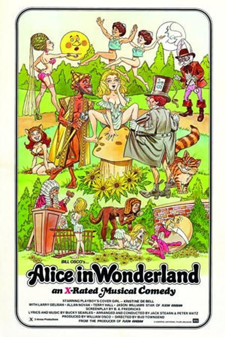 Blackball Alice In Wonderland Classic Adult Porn Film Movie Poster 24x36  inch