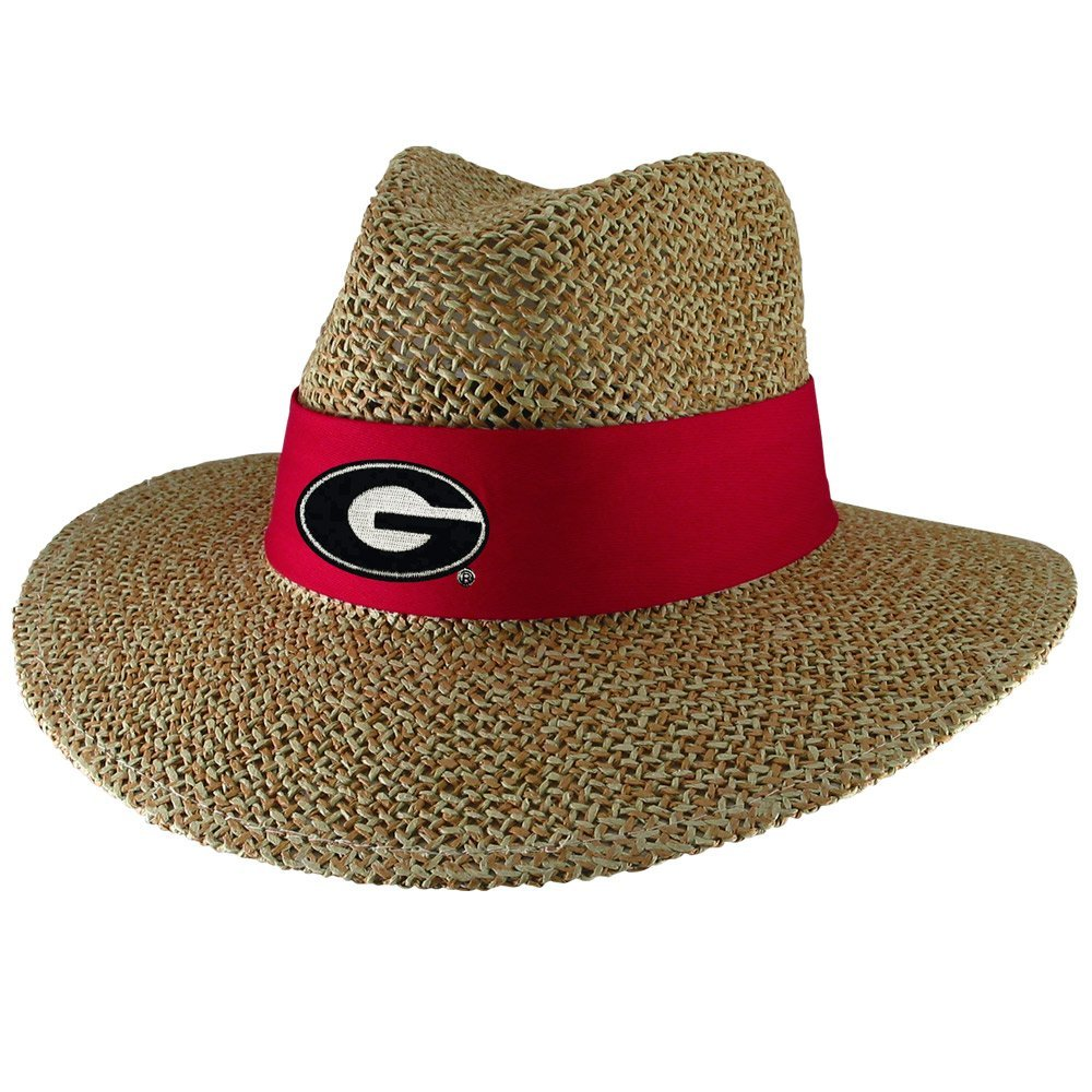 University of Georgia Bulldogs UGA Angler Twisted Straw Safari Hat with Sun  Blocker Material Natural  Amazon.ca  Sports   Outdoors 347aec2a816