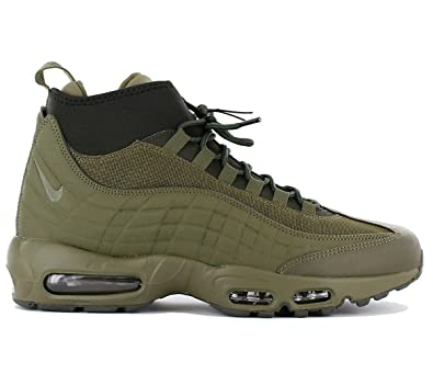 NIKE Air Max 95 Sneakerboot Men's Boot (Olive) (11)