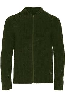 e8a363d18a3a Brave Soul Mens Zip Up Cardigan Fine Knit Cotton Jumper Sweater ...