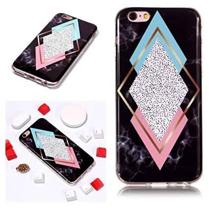 coque iphone 6 marbre triangle