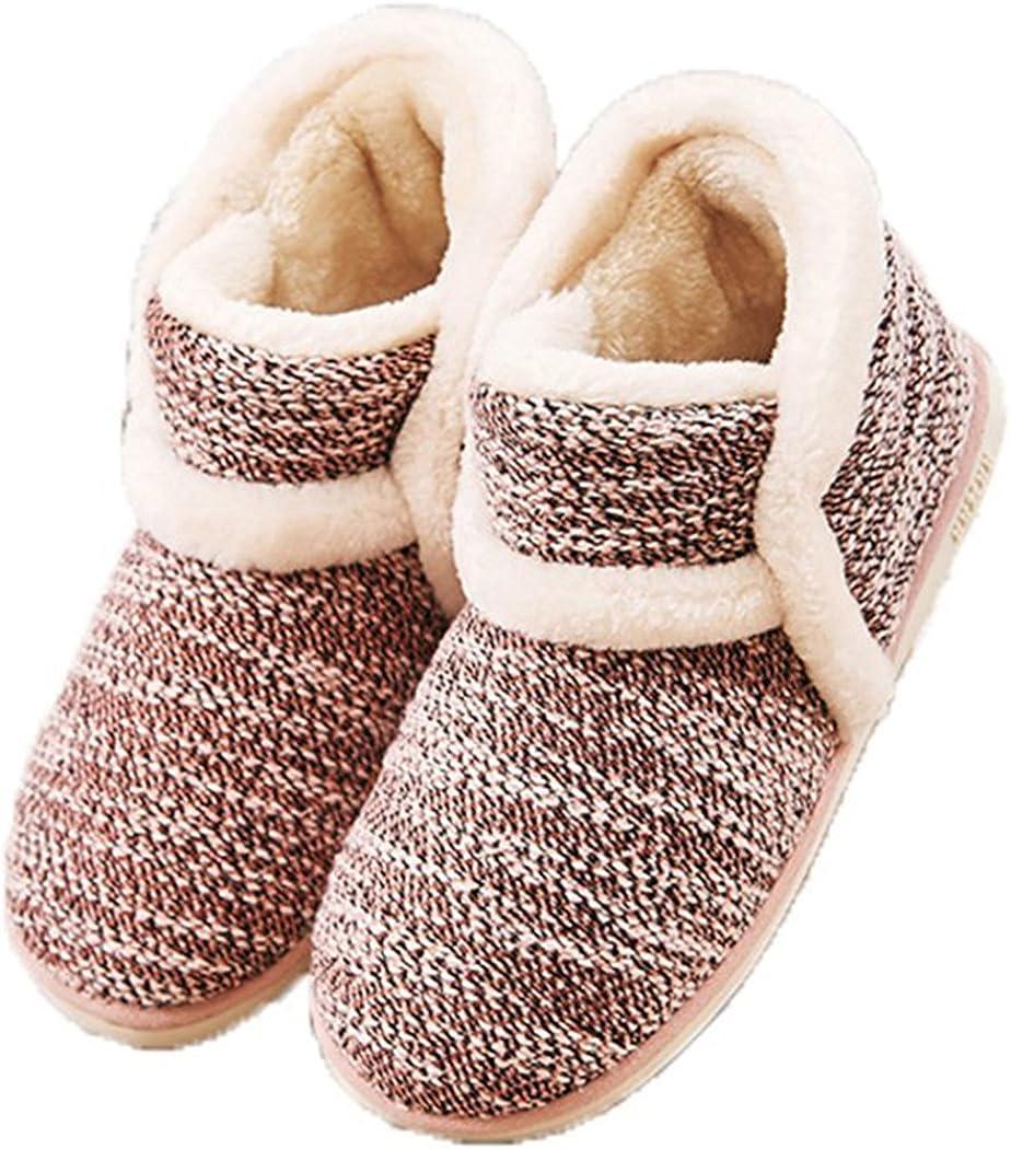 GaraTia Winter Vintage Boot Womens Slippers Arctic Solid Indoor Outdoor House Shoes