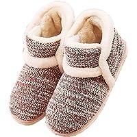 GaraTia Winter Vintage Boot Slippers Arctic Solid Indoor Pink 8 B(M) US