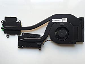 wangpeng Replacement Fan for Dell Latitude E6540 Series Discrete Graphics Cooling Fan with Heatsink DP/N 072XRJ CN-072XRJ 4-Pin 4-Wire