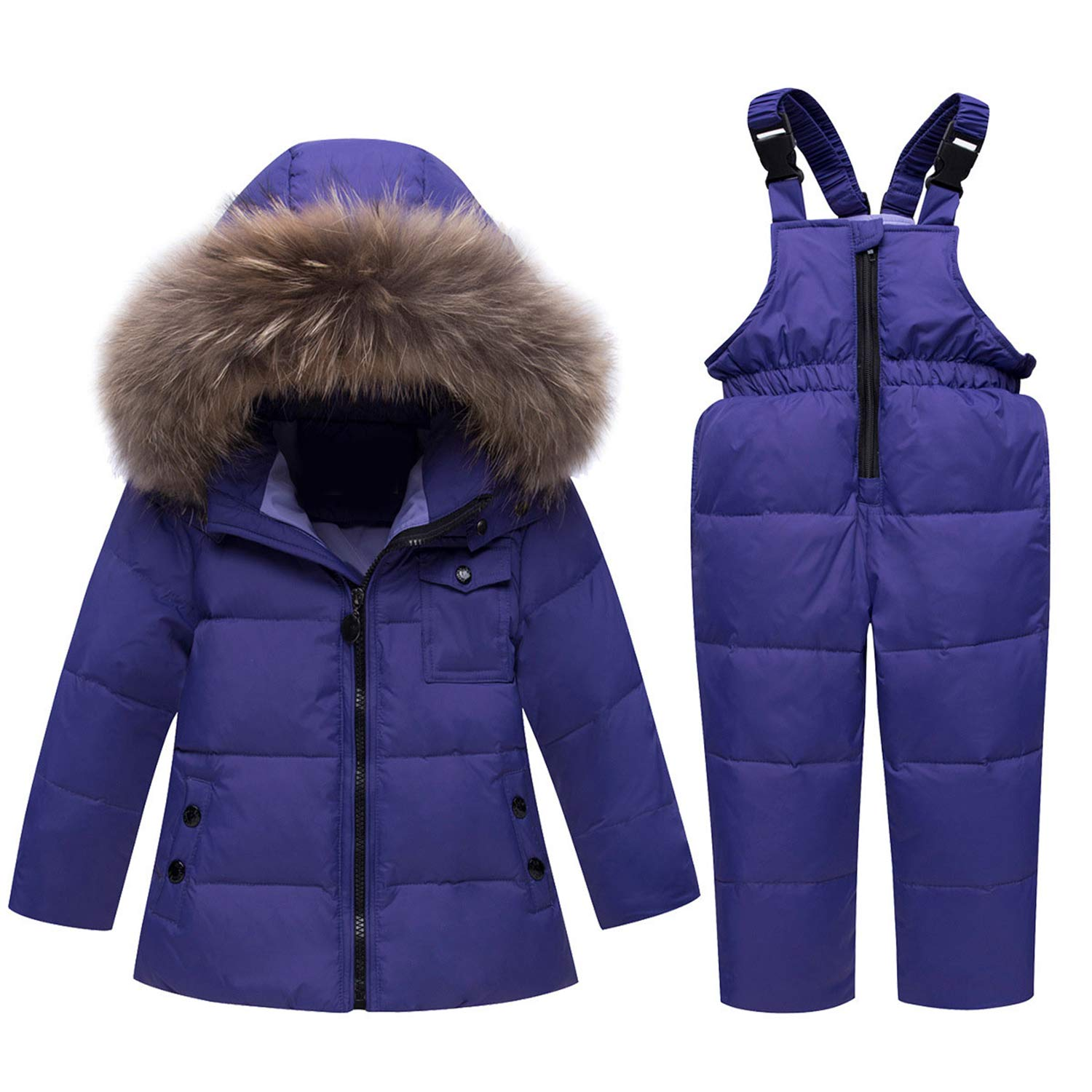 fd805e92e Amazon.com  Russian Winter Suits for Boys Girls Ski Suit Children ...