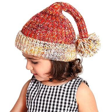 89720e3edfa Tacobear Enfants Chapeau Tricot Casquette Noël Chapeau Enfants Chapeau  Hiver Bonnet Automne Tricot Chapeau Chaud bébé
