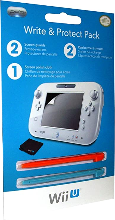 PDP - Pack Stylus And Screen Protector (Nintendo Wii U): Amazon.es: Videojuegos